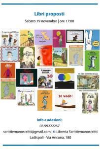 Settimana naz. nati per Leggere libri proposti