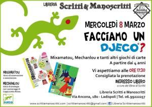 DJECO 8 Marzo